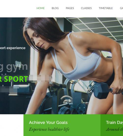 Webseiten fuer Fitness Studios und Sportvereine