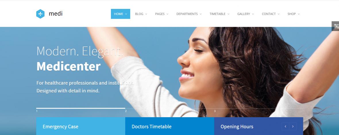 Webseiten fuer Aerzte Kliniken Krankenhaeuser