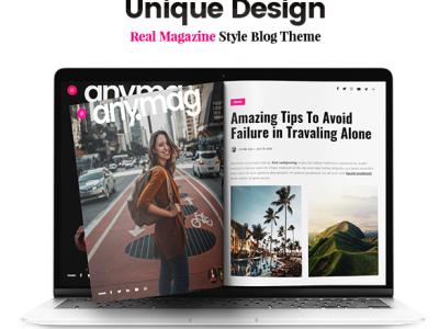 Webseiten fuer Magazine und Blogger