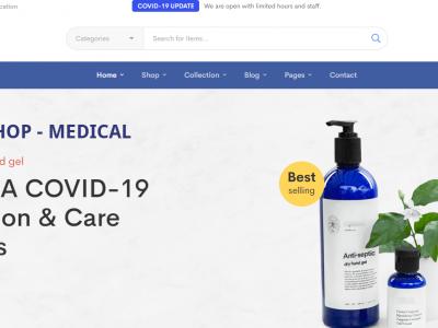 Onlineshop medizinische Produkte