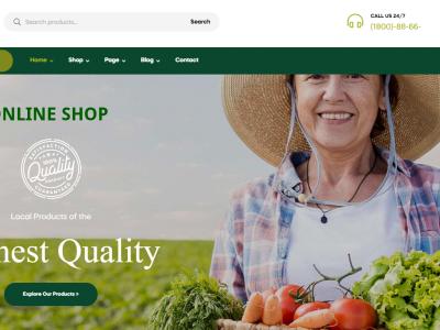 Onlineshop Narungsmittel, Bio Produkte
