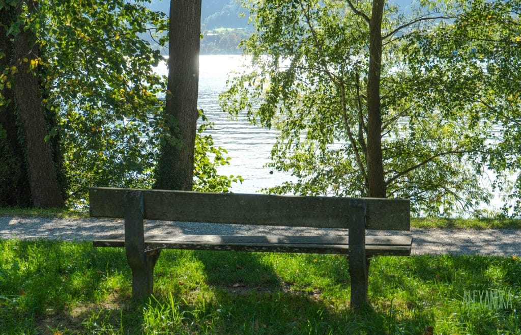 Bank am Traunsee