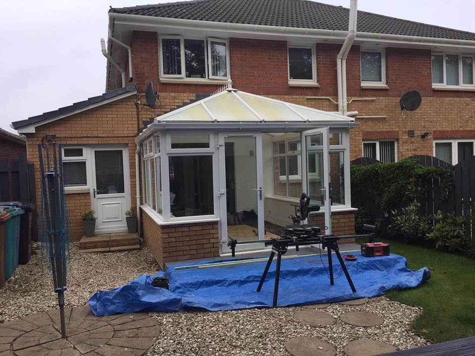 Conservatory 3 Before