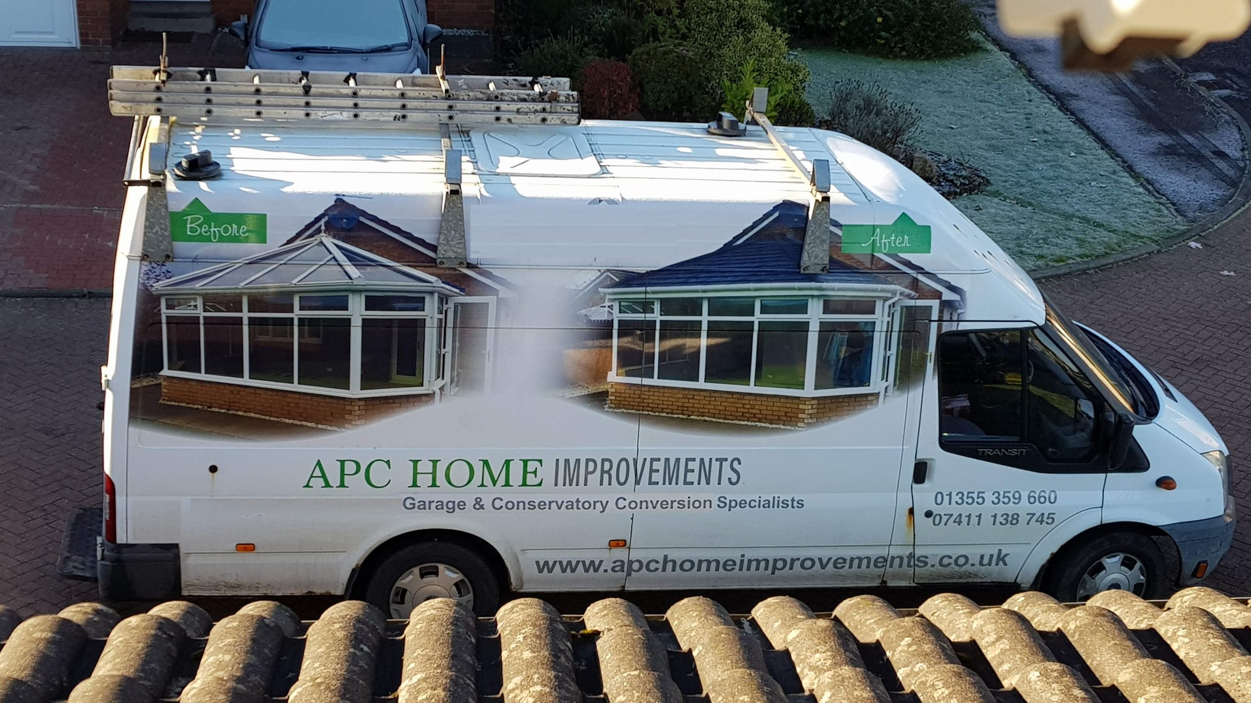 APC Home Improvements Van