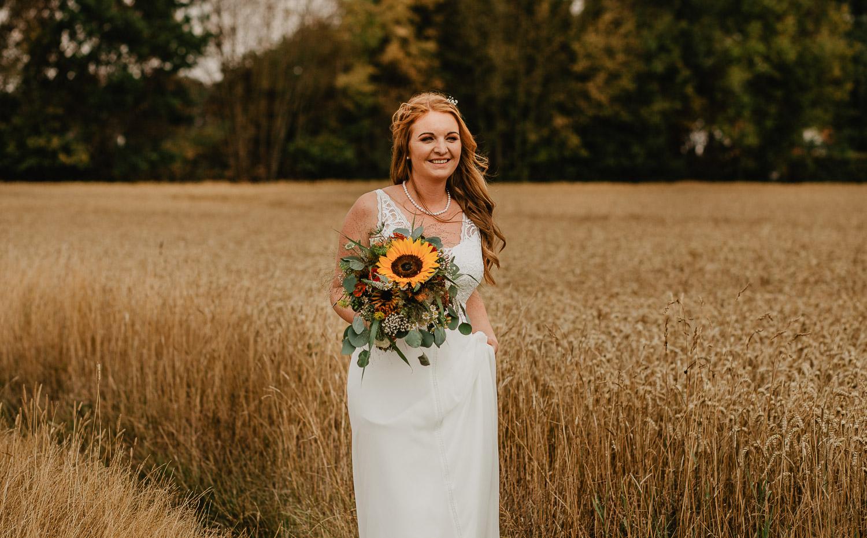 Hochzeitsfotograf Hagen - Kirchliche Trauung Brautpaarshooting