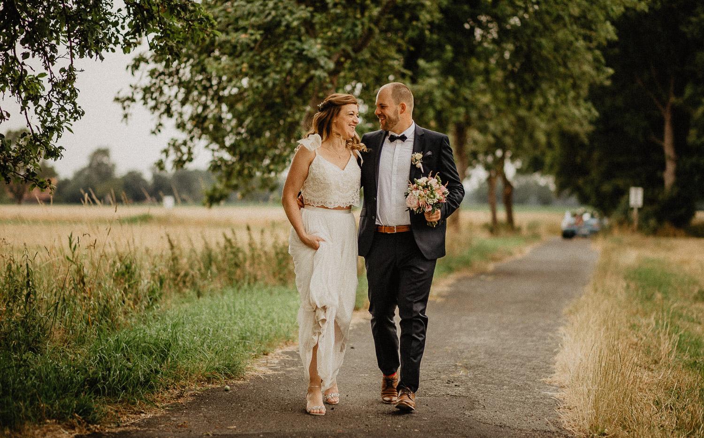 Hochzeitsfotograf Münster - Standesamt - trauung - Hochzeit - Brautpaarshooting