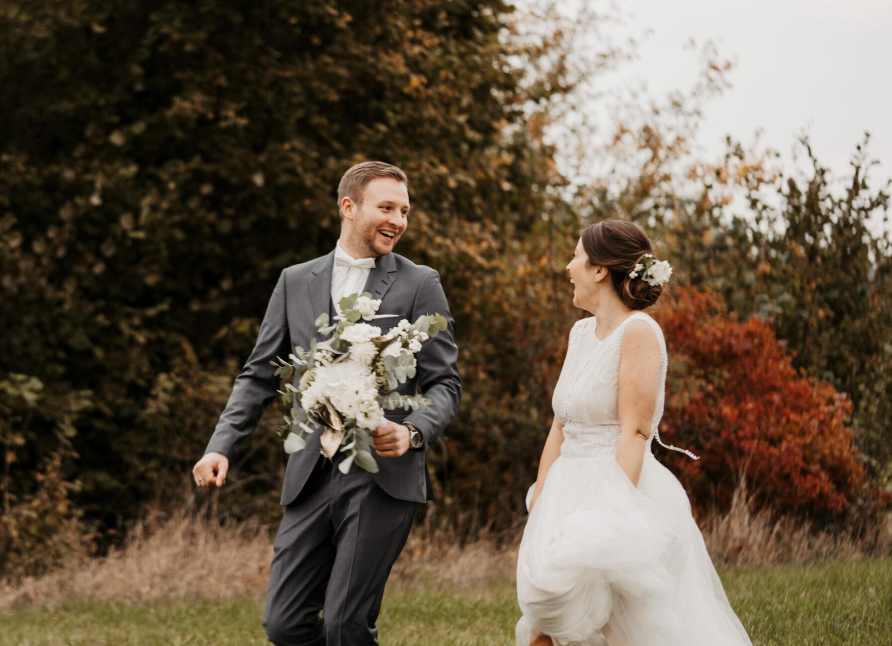 Hochzeitsfotograf Hagen - Brautpaarshoting Freie Trauung