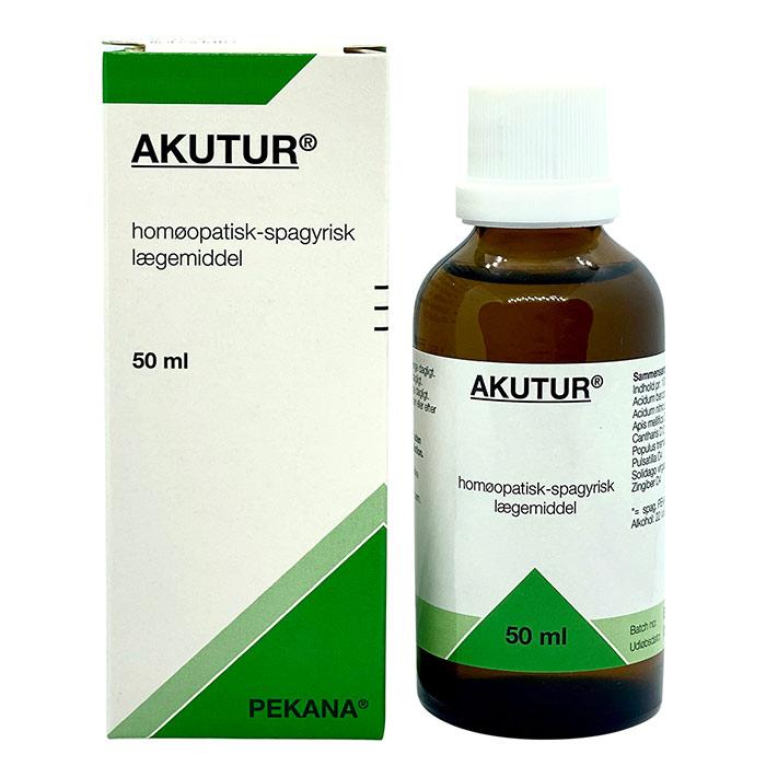 Akutur spagyrisk lægemiddel fra Pekana