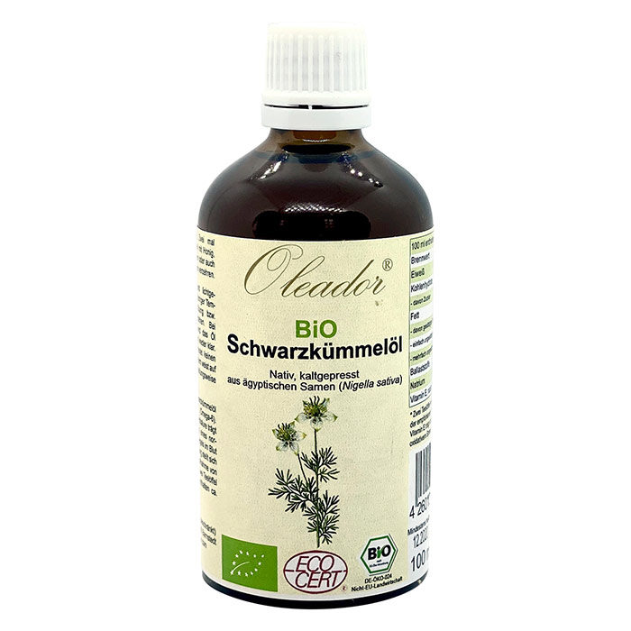 Nigella-olie , Økologisk, Oleador