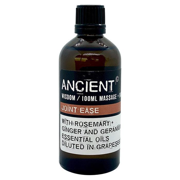 Ømme led massage- og badeolie fra Ancient Wisdom