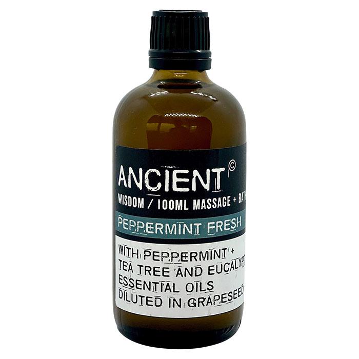 Opfriskende massage- og bade olie fra Ancient Wisdom