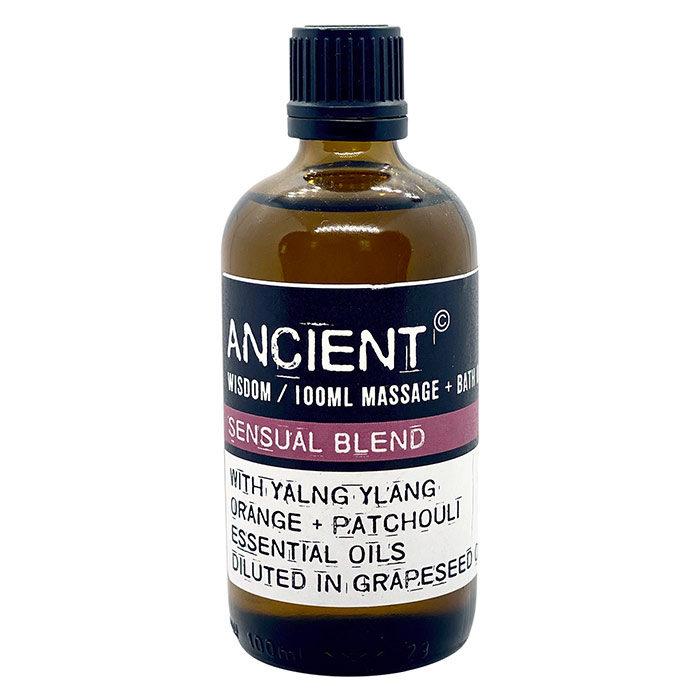 Sensuel massage- og badeolie fra Ancient Wisdom