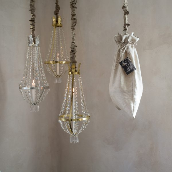 Crystal chandeliers for candle