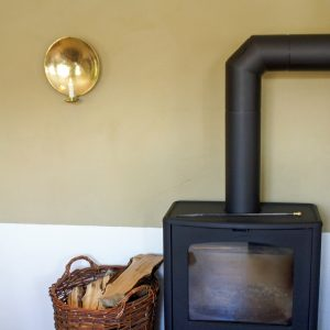 Largew allsconce brass fire place