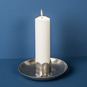 Candlestick Pearl, Pewter