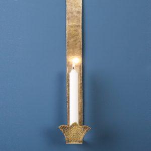 Door Sconce, Brass, Small