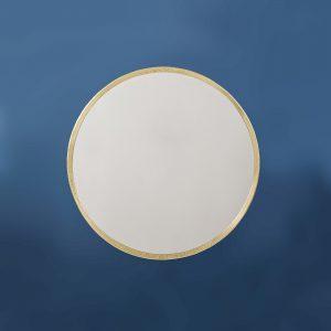 Round Mirror, Brass
