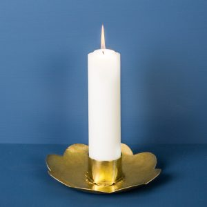Candlestick Flower, Brass