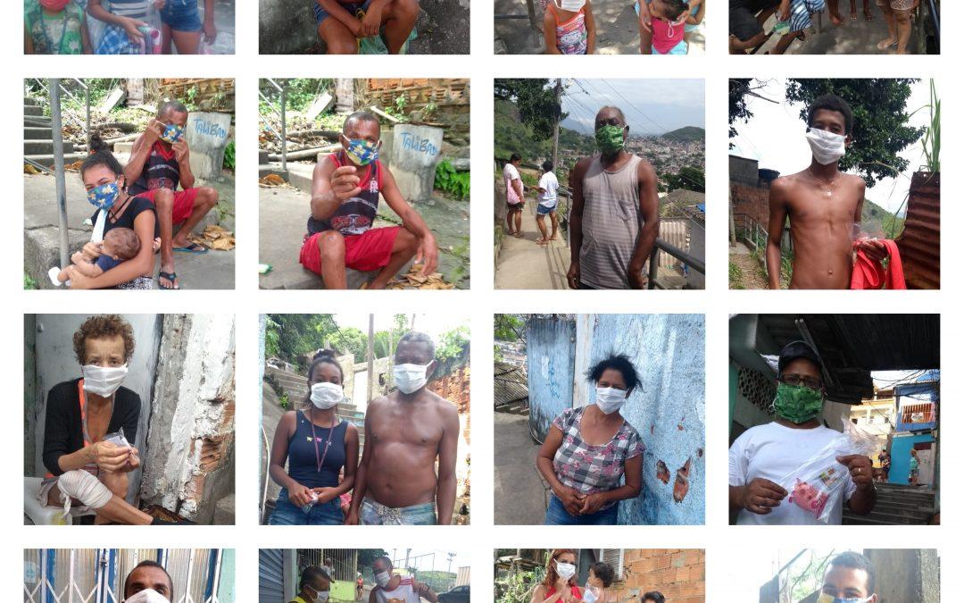 Favela contra corona