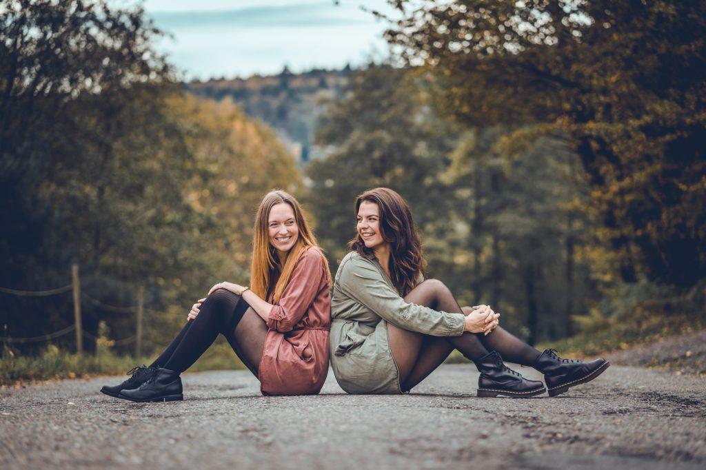 Freundinnenshooting Outdoor, Heidelberg, Wilhelmsfeld