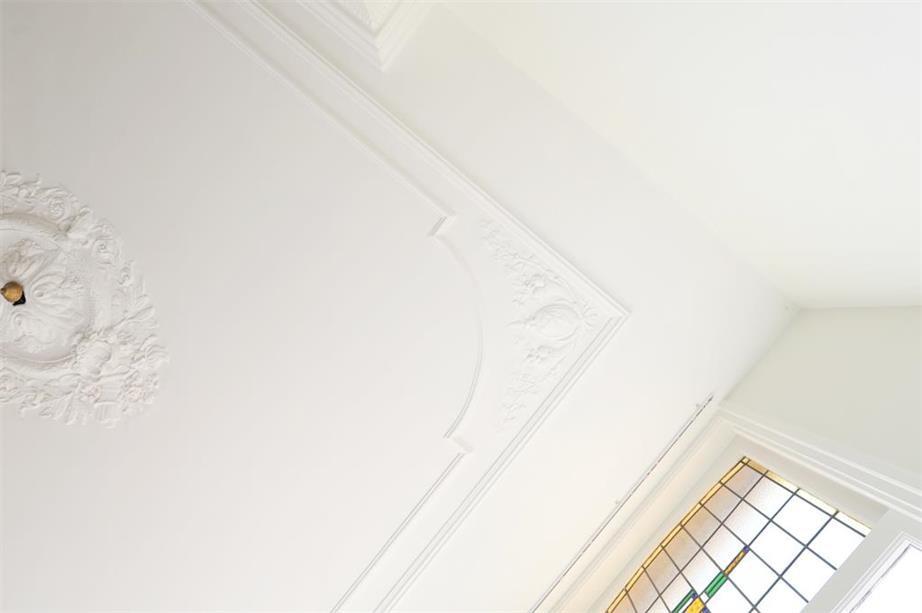 Plafond stuken