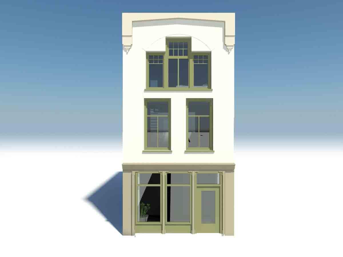 architecture-art.com_85.14_ verbouwing woonhuis te Steenwijk