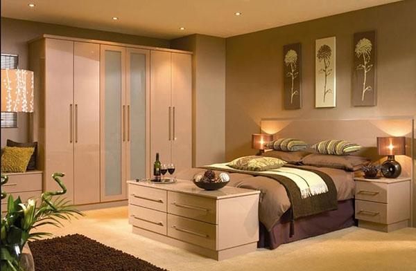 Dormitorio con moqueta