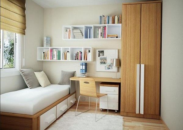 Dormitorio de pino