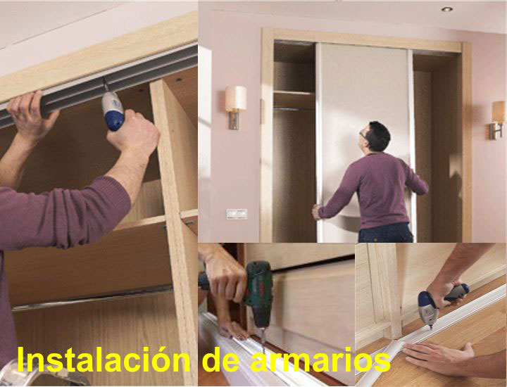 Arcolinea: instalación de armarios empotrados