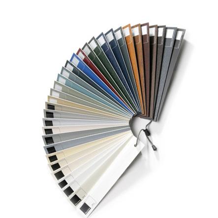 Gama de colores de ventanas y puertas de PVC, Sumum (Arcolinea, s.l.)