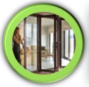 Ventanas y puertas plegables Sumum. De altas prestaciones térmicas y acústicas. De gran resistencia y seguridad. Líneas modernas y elegantes.