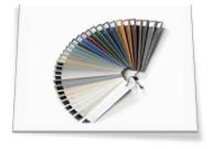 Gama de colores de ventanas y puertas Sumum