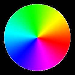 Imagen de círculo cromático de colores (Arcolinea)
