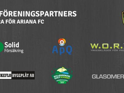 Föreningspartners klara för Ariana FC