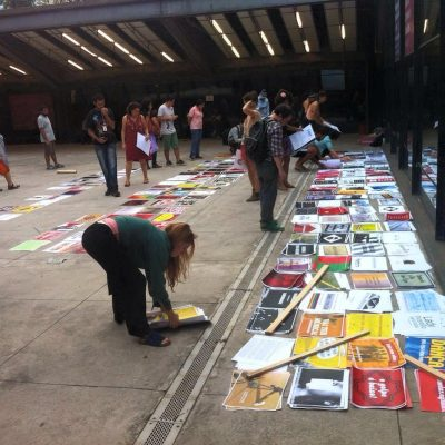 Distribuição gratuita de mil cartazes no CCSP