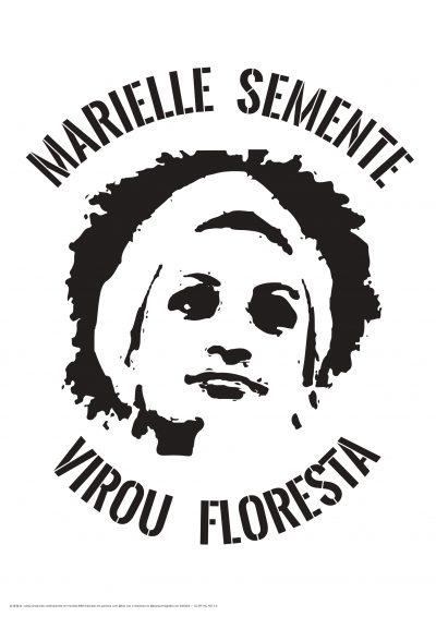 Marielle semente virou floresta