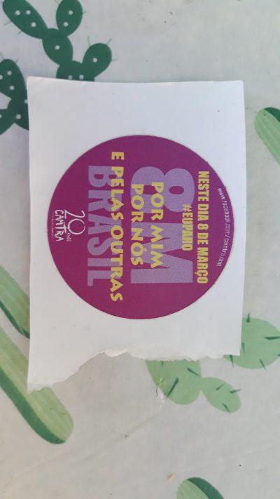 8M #EuParo CAMTRA Sticker