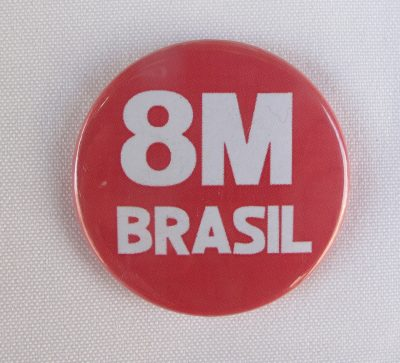 8M Brazil button