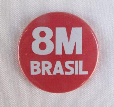 Boton 8M Brasil