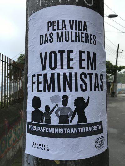 Vote em feministas