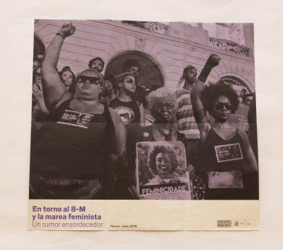 Panfleto do Museo Reina Sofía, da Espanha
