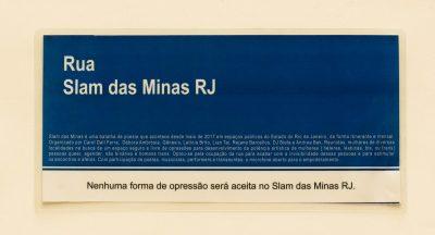 Placa Slam das Minas RJ