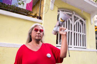"""""""Casa Nem""""'s megaphone"""