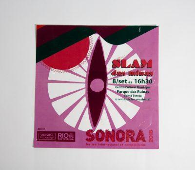Sonora Festival 2018 pamphlet