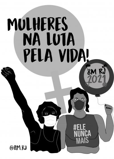 Mulheres na luta pela vida!
