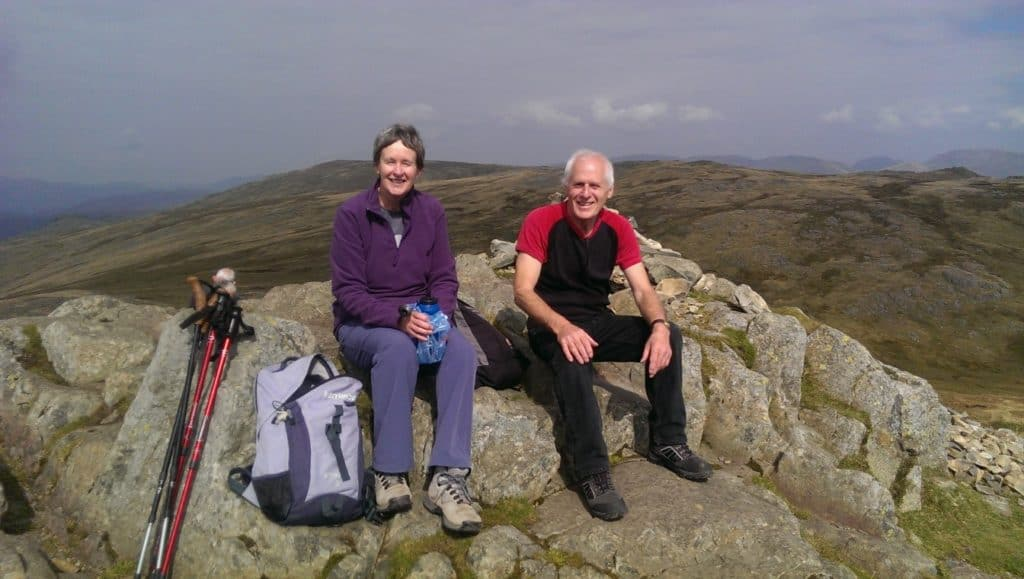 On the Langdale Pikes