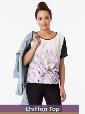 Flower Mystical - Chiffon Top