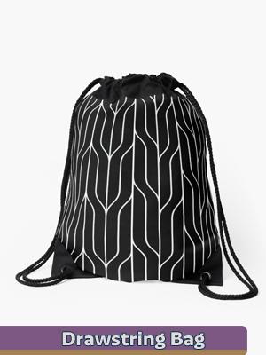 Graphic Art- Drawstrings Bags