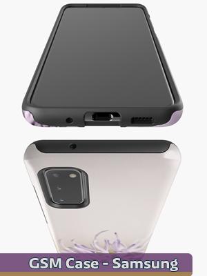 Text Illustration - Samsung Case & Skin