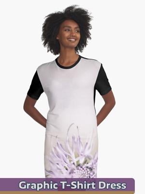 Graphic Art - Graphic T-Shirt Dress
